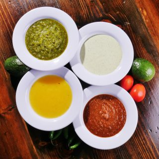 Specialty Salsas from Above